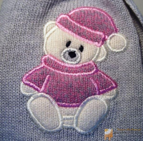 Вышивка на детских трикотажных изделиях 18